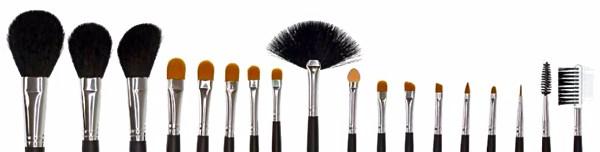 Essentiel : Les pinceaux de maquillage partie2