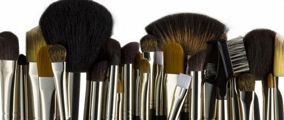 Essentiel : Les pinceaux de maquillage partie1