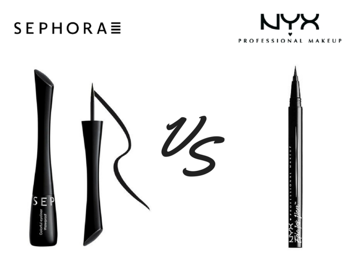 BATTLE : EPIC INK LINER by NYX      VS   COLORFUL EYELINER by SEPHORA